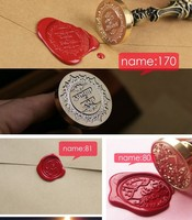 Continental Retro Wax Wax Seal Gift Set Custom Wedding Gifts Customized English Letters