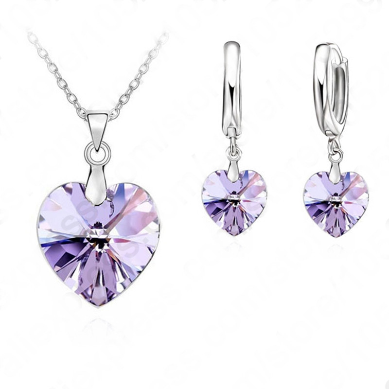 Giemi-Romantic-Clearly-Austrian-Crystals-925-Sterling-Silver-Jewelry-Sets-Heart-Pendant-Necklaces-Lever-Back-Earring (1)_
