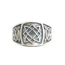 Anillo amuleto de star of all, tamaño 6 a talla 14, Unisex, 925