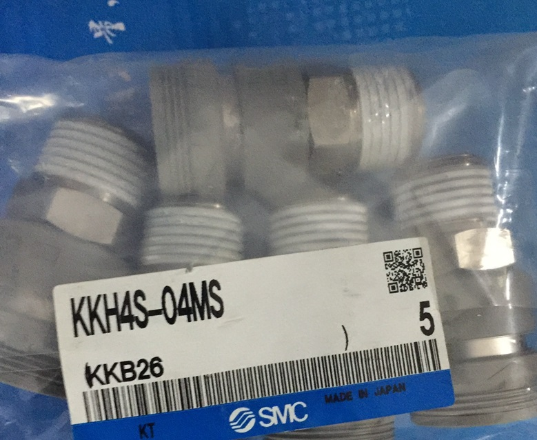 BRAND NEW JAPAN SMC GENUINE COUPLER KKH4S-04MS brand new japan smc genuine coupler kk4s 06h