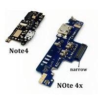 Usb porto carregador doca plug conector cabo flexível para xiaomi nota 4x para redmi nota 4 porto de carregamento placa substituição