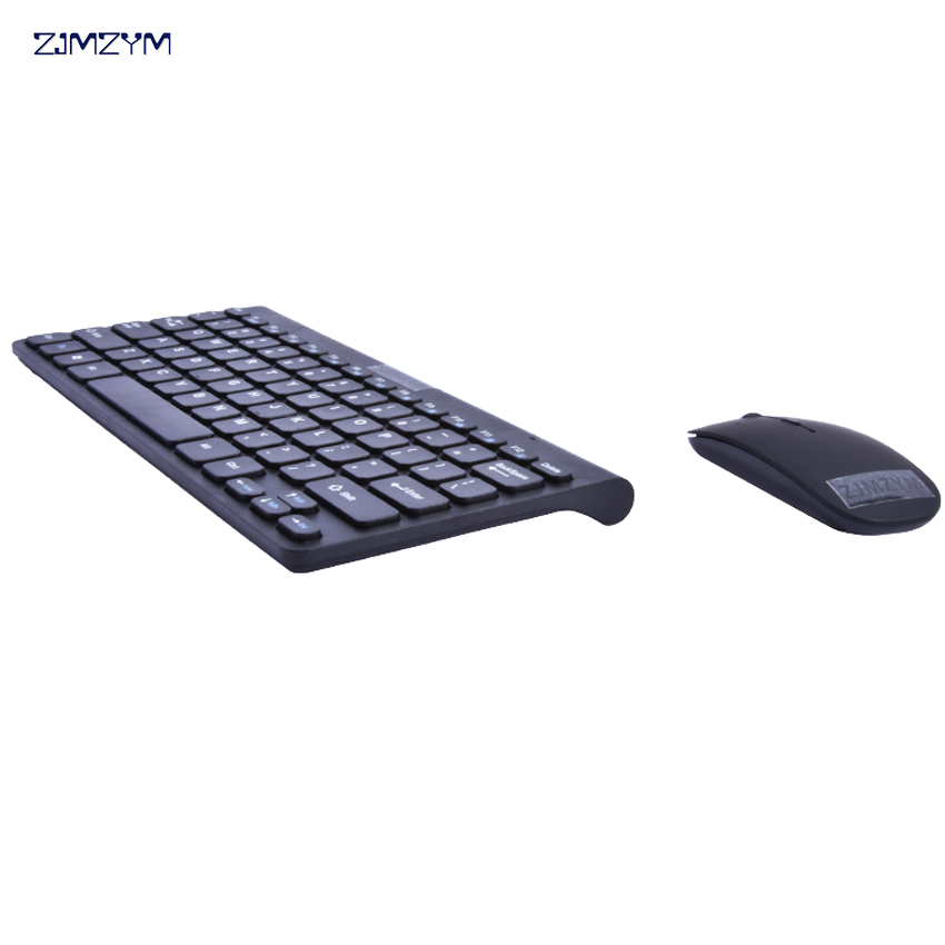 High Quality HW086 1200DPI 2.4G Mouse Metal keyboard Multimedia Wireless Keyboard and Mouse Combo for Office Laptops Desktops PC