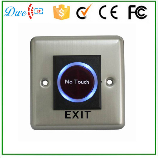 DWE CC RF Free shipping 24V no touch exit button switch for control system coin purses creative big eyes pu leather coin purses child girl women change purse lady zero wallets coin bag free shipping