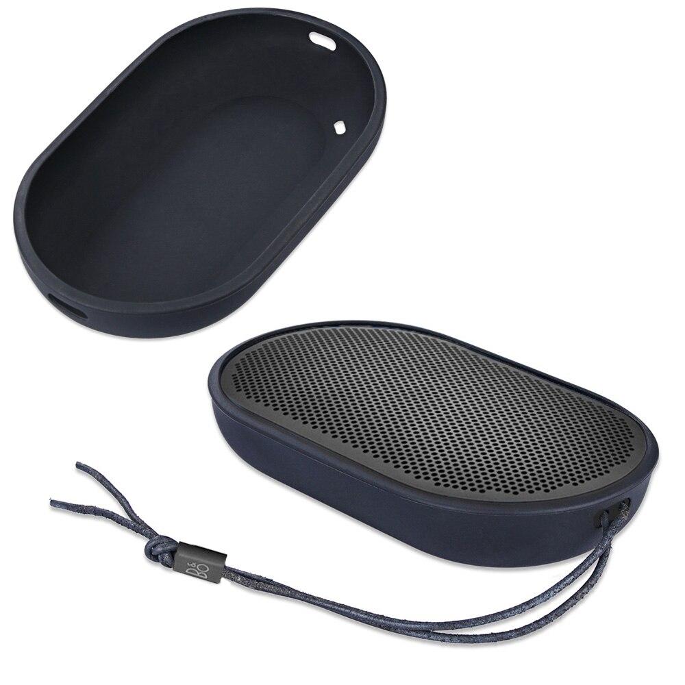 100% Marque Nouveau Durable Silicone Cover Housse de Transport de Poche de Douille pour B & O JOUER par Bang & Olufsen Beoplay P2 Bluetooth haut-parleur