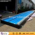 Gimnasia esteras colchoneta de aire inflable Tumble Track Para Entrenamiento De Gimnasia L12MxW2M BG-A0764-2 juguete deportes