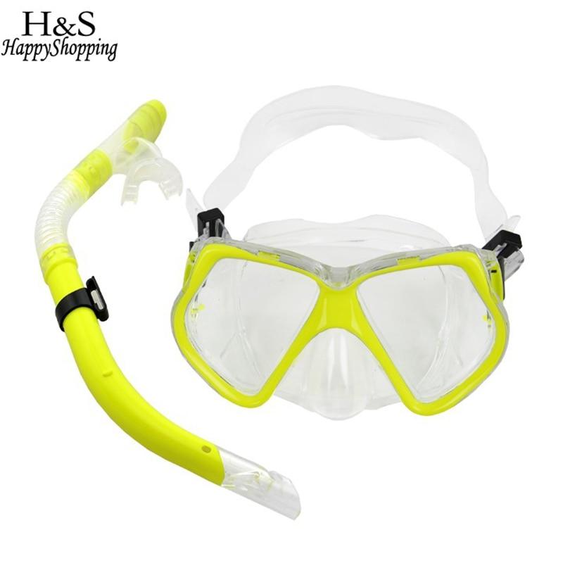 2017 Nowa Podwodna Morze Nurkowanie Snorkeling Maska Pływanie - Sporty wodne - Zdjęcie 1