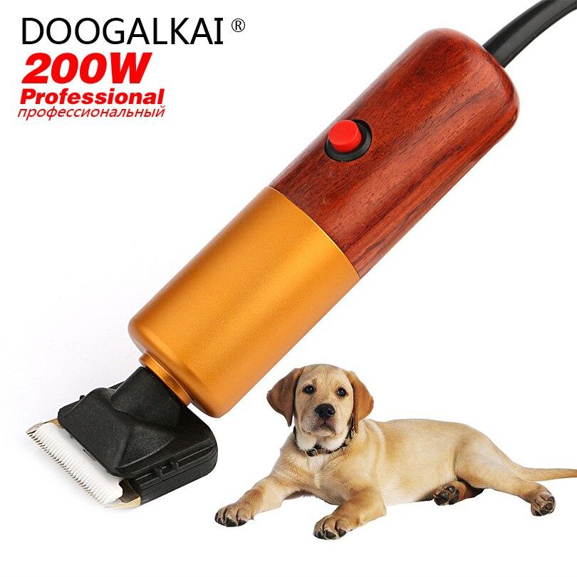 Собака/Pet Clipper комплект для Touch UPS между Professional Groomings 200 Вт Плавное регулирование скорости с Электрический Триммер лезвия