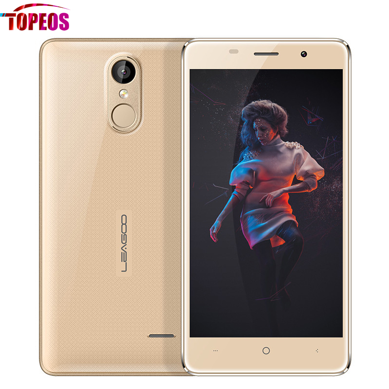 Original Leagoo M5 Fingerprint Mobile Cell Phone 2GB RAM 16GB ROM HD 3G WCDMA MT6580A Quad