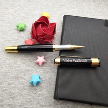Unique diy party giveaways personalized heavy pen customized free with any design/logo/text on body or cap 10pcs/lot
