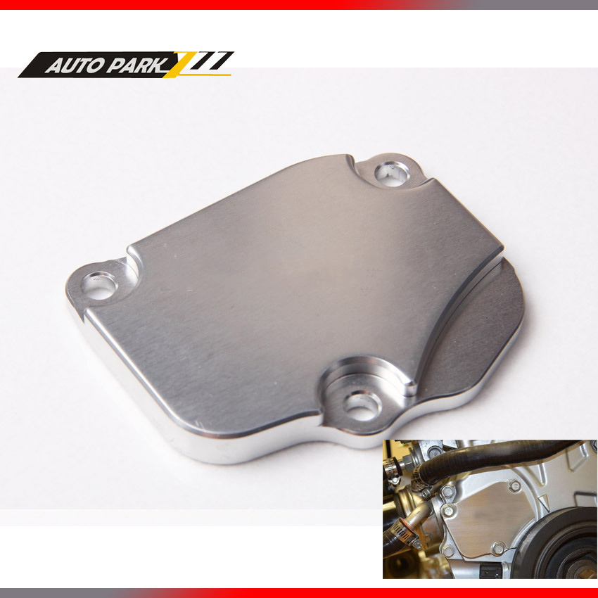 Billet Aluminum Tensioner Cover Plate for Honda Acura K20, K20A, - Auto Replacement Parts