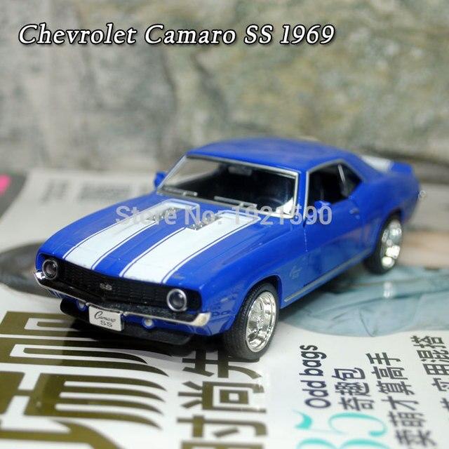 5pcs Lot Whole Uni 1 36 Scale Car Toys 1969 Chevrolet Camaro Ss Vintage