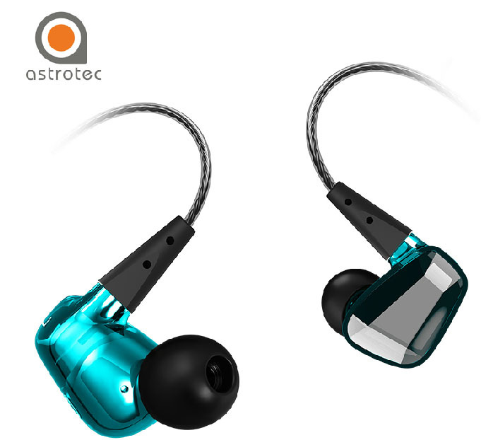 Authentic Astrotec GX40 Professional Sound Noise Isolating HiFi Music Studio DJ Monitor in-ear Earphone Headphone Fone de ouvido superlux hd669 professional studio standard monitoring headphones auriculares noise isolating game headphone sports earphones