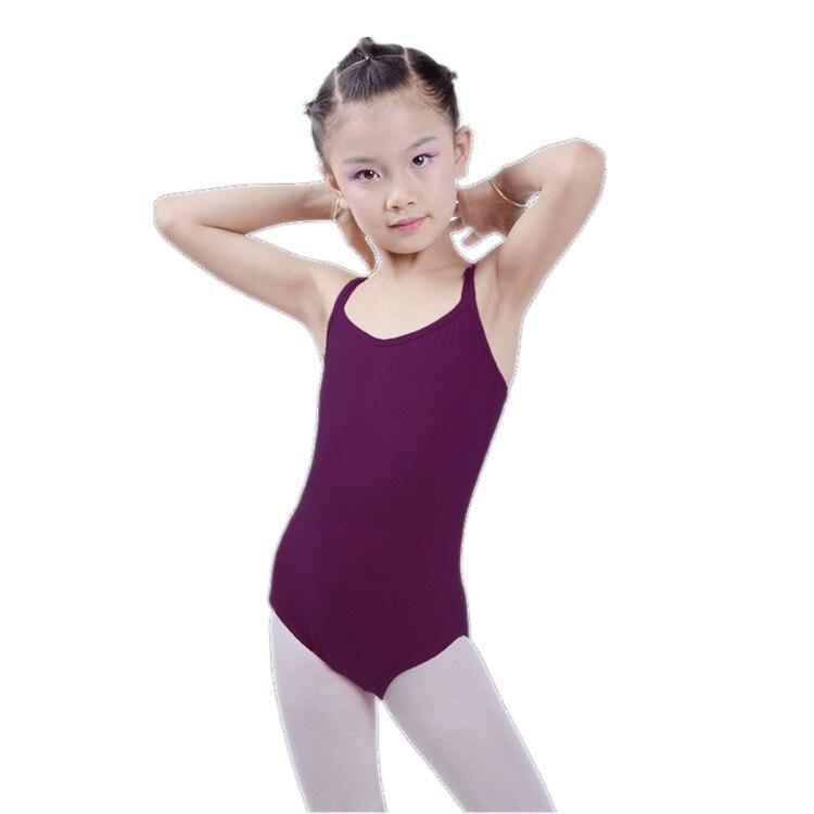 16c4858ad1 Sem mangas Ballet Collant Dança Traje Desgaste Collant de Ginástica da  Aptidão Profissional Balet Infantil