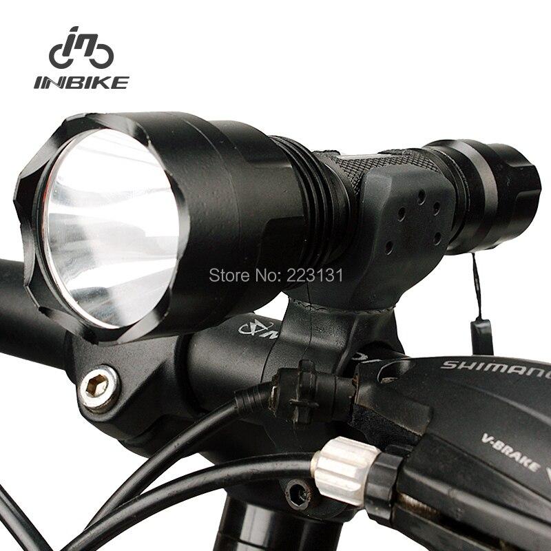 Inbike bicycle lamp headlight glare flashlight charge mountain bike bicycled ride - 7 Days store