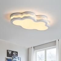 Спальня огни Романтический облака светодиодный потолочный светильник мультфильм свет потолочный Nordic детская комната потолочные светильн