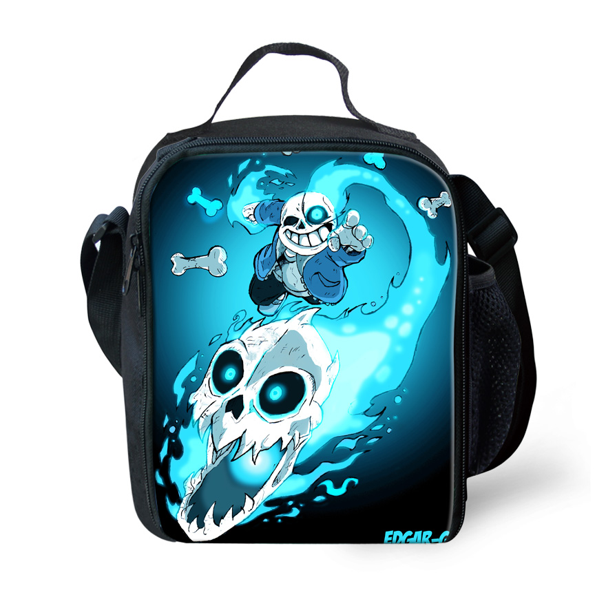 FORUDESIGNS Bolsa Termica lancheira Termica New Undertale lunch Bags for Kids Children five nights freddy Lunchbox Bag Insulated