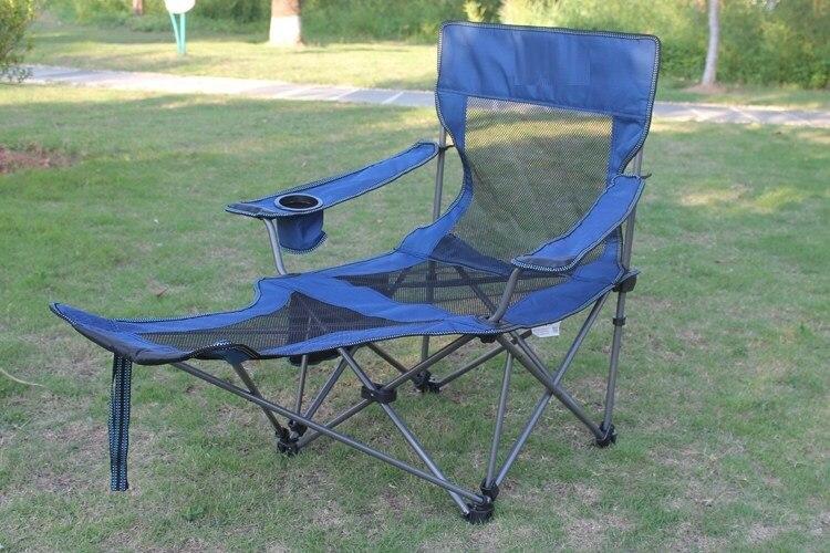 De pêche en plein air chaise pliante Camping tabouret livraison gratuite dans Chaises de plage de Meubles