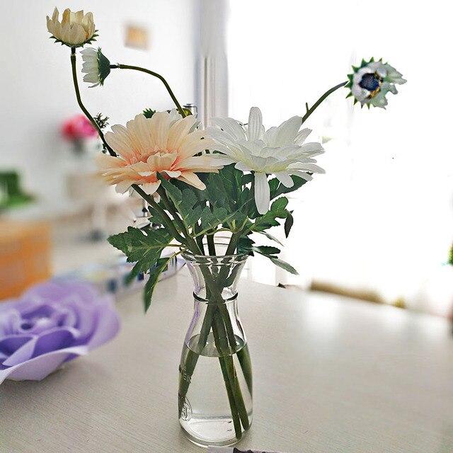 46 سنتيمتر جربر الزهور زهرة برعم الاصطناعي الزهور وهمية المنزل