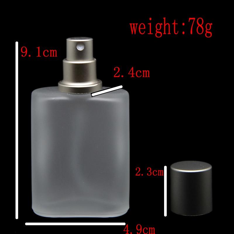 30ml 1pcs / lot srebrno siva Flat Style matirano poluprozirno staklo - Alat za njegu kože - Foto 4