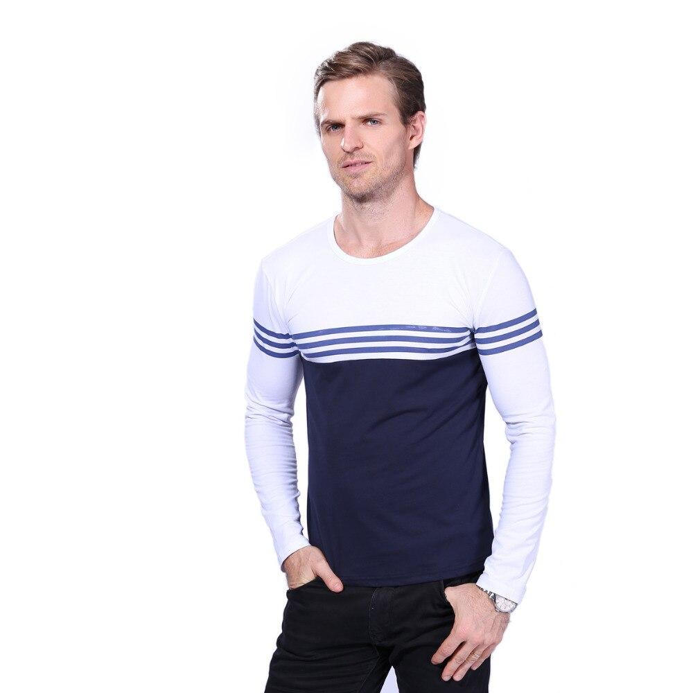 Ebay n rom n cump r turi n str in tate compar for Mens striped long sleeve t shirt