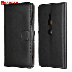 На Алиэкспресс купить чехол для смартфона case for sony xperia xz2 leather cover card slot wallet case coque for sony xz2 phone case cover flip stand