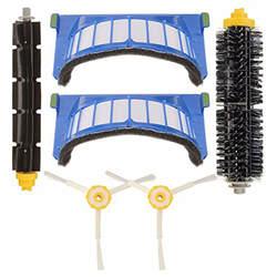 Замена вакуумный Запчасти для Irobot Roomba 600 пылесос Series 1 * кисти + 1 * лопастные щетки + 2 * боковые щетки + 2 * Фильтры