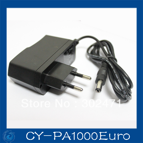 DC 12V 1A Monitor Power Supply Surveillance Camera  Power Adapter For Ip Camera /AHD Camera/CCTV Camera Euro Plug 12v 5a 8ch power supply adapter work for cctv suveillance camera system dc 12v power supply 8 port dc pigtail coat