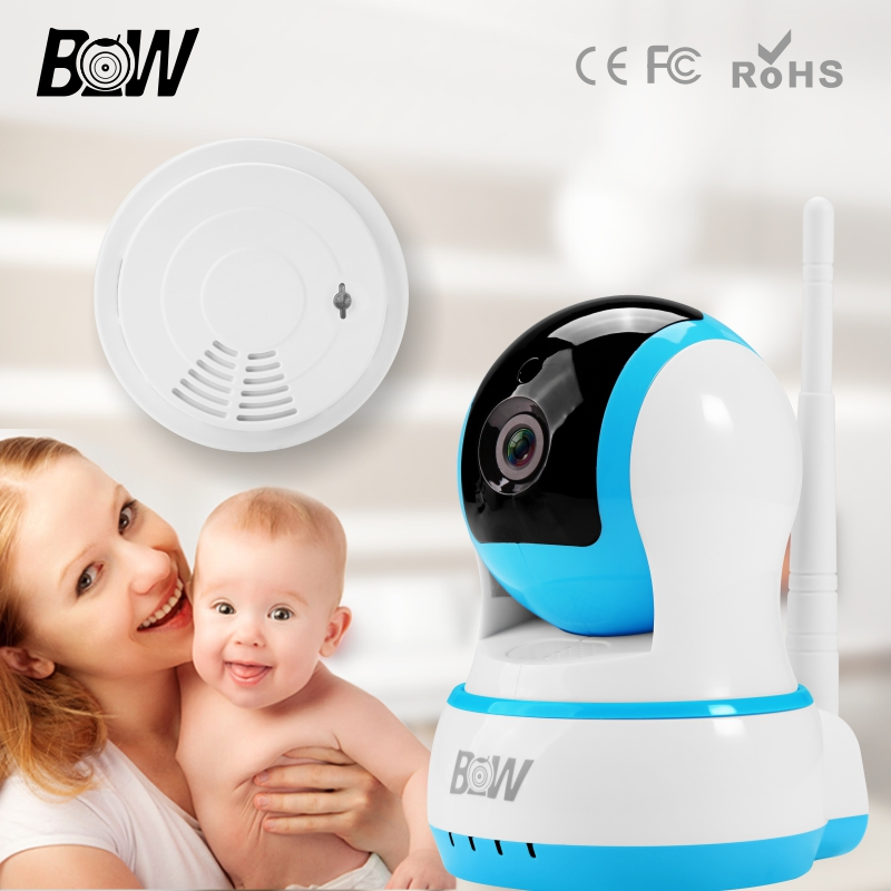 ФОТО BW Security IP Camera WiFi Rfid Surveillance Camera Wireless Len H.264 Network Baby Monitor Automatic Sensor Alarm System