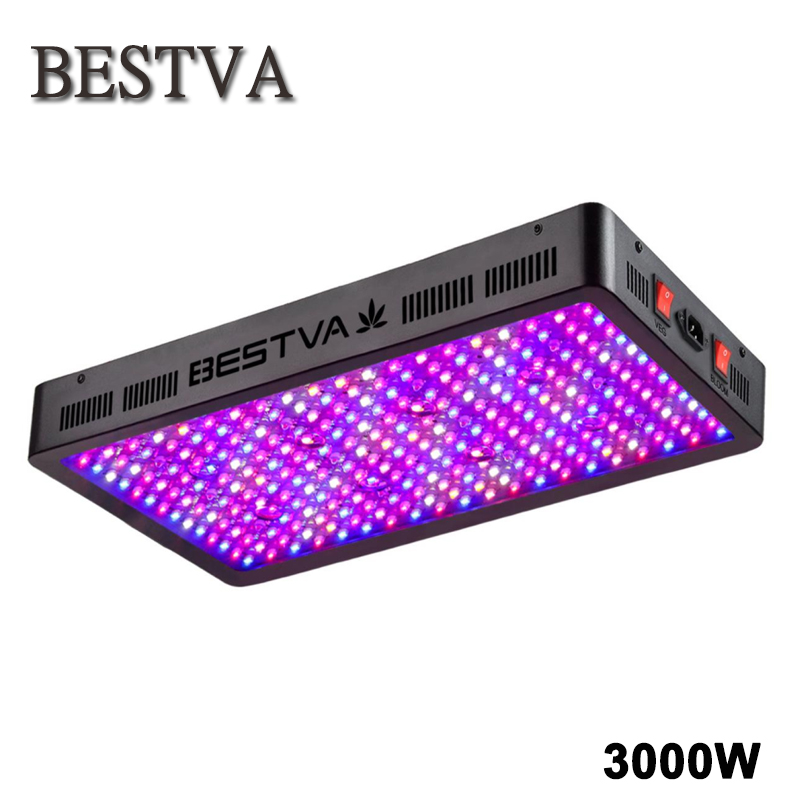 BESTVA 3000W led grow light full spectrum for indoor plants Greenhouse grow tent Hydroponics veg flower