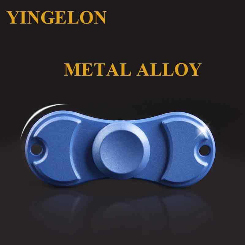 YINGELON Antistress Fidget Spinner Hand Spinner Metal Alloy Creative Toys For Children Anxiety And Stress Relief Random Color