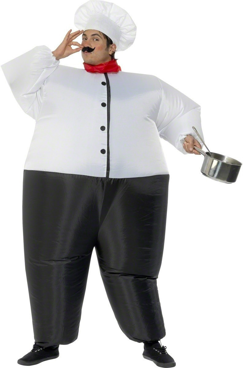 Carnival Cosplay Adult Chub Chef Cook Inflatable Chef Blow Up Color Full Body Fancy Dress Halloween Costume Jumpsuit-in Boys Costumes from Novelty u0026 Special ...  sc 1 st  AliExpress.com & Carnival Cosplay Adult Chub Chef Cook Inflatable Chef Blow Up Color ...