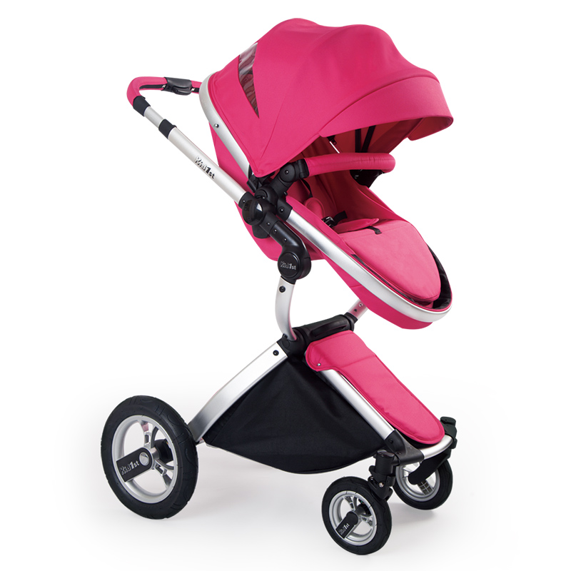 купить Kid1st Luxury, High Landscape, Shock Resistant Baby Stroller, Can Sit, Lie Two-way Stroller по цене 22545.93 рублей