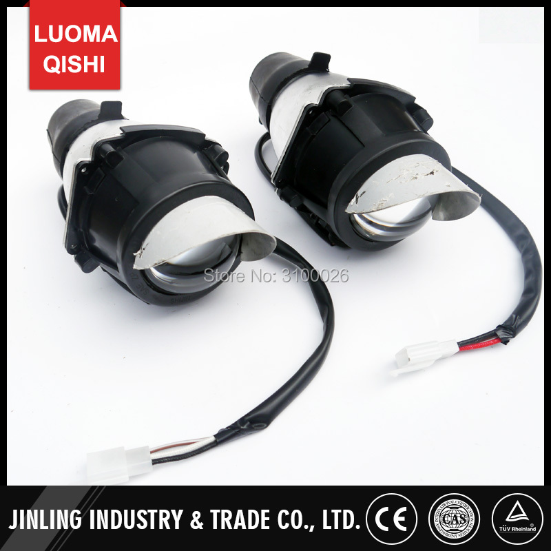 1 Pair/2 Pcs Left/Right Head Front Light ATV Jinling 250cc 300cc Parts EEC JLA-21B,JLA-931E,JLA-923