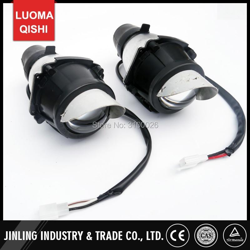 1 Pair/2 Pcs Left/Right Head Front Light ATV Jinling 250cc 300cc Parts EEC JLA-21B,JLA-931E,JLA-923