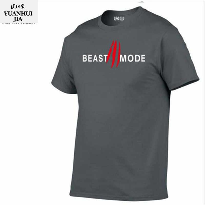 e0c1fc74eff9b ... 2018 New Creative Art Design Beast t shirt for Men Summer short sleeve  cool shirts 100 ...