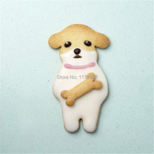 Cartoon Cake cute Dog DIY stainless steel biscuit baking mold cookie Cutters Tools Moulds Free shipping