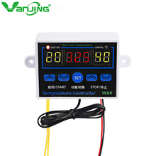 W88 LCD Digital Thermostat Temperature Regulator Controller for Incubator Microcomputer Heating Cooling Control Switch
