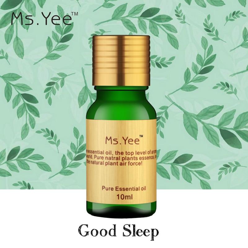 Aromathérapie Bonne Nuit Huile Aider À Bien Dormir Pur Naturel Huiles Essentielles Anti-Stress Fatigue Améliorer L'insomnie et La Dépression X63