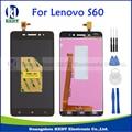 Lcd original para lenovo s60 s60a s60-w s60-t s60-a display lcd tela painel de toque peças de reposição assembléia s60t s60w s60a + ferramenta