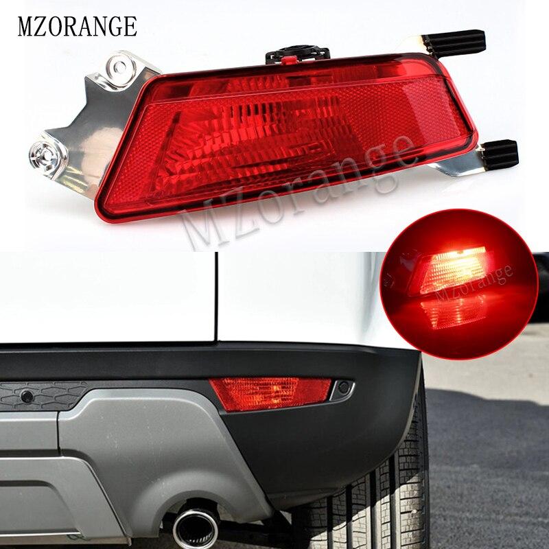 MZORANGE слева/справа автомобиля задний противотуманный фонарь с лампой для Range Rover Evoque 2012-задний бампер автомобиля туман светильник задний све...