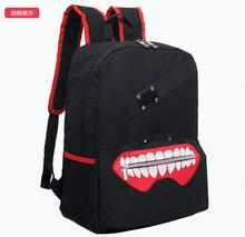 Tokyo ghoul concept design backpack Kaneki Ken mask design nylon backpacks anime fans school bag ab233