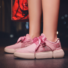 New Fashion 2018 PU Low Help Shoes Small White lovers shoes woman sneakers harajuku size 35-44 colors  white black pink a5