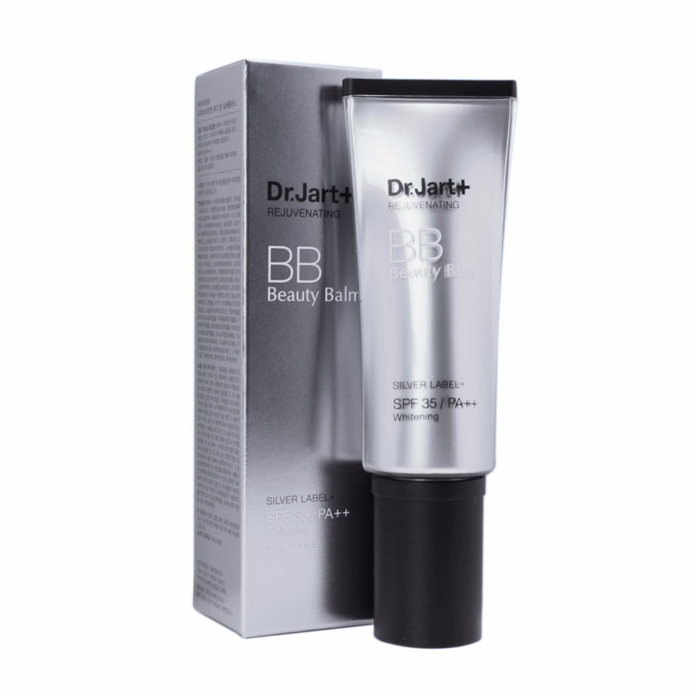 Dr. Jart+ Rejuvenating BB Cream Beauty Balm Silver Label+ SPF35 PA++ Brightening skin79 intense classic balm the premium bb cream spf35 pa 43 5 г