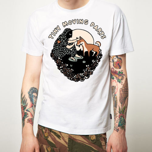 T Shirts Cheap Short Sleeve Summer Crew Neck Tiny Moving Parts T Shirt New Merchandise (Emo Punk) Tee Shirt For Men