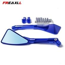 Universal Motorcycle Mirror Side Rearview Accessories For Honda CBR600RR GROM MSX125 nc750x cb400 cb500x cb650f