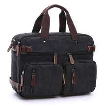 Canvas Men Travel Bags Hand Luggage Bag T733 Travel Duffle Bag Tote Hide The Shoulder Strap Handbags Men Leather Bags high capacity genuine leather travel bag fashion casual handbags shoulder bag men s duffle travel bags