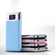 Для XIAOMI power bank 20000 мАч портативный power Bank 20000 мАч Внешний аккумулятор двойные порты power bank зарядное устройство мобильное зарядное устройство
