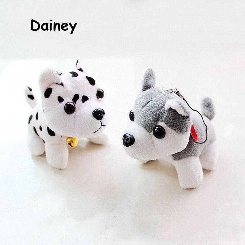 1PCS Hot 8*10CM Kawaii Small Dog DALMATIAN Plush Toys Stuffed Animals Fluffy Teddy Dolls Soft Kids Toys MRT14