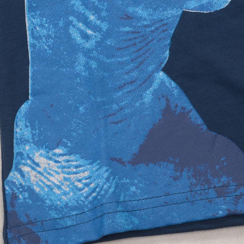 SAILEROAD 2-8Years 4Style Dinosaurs Print Baby Boys T Shirt Summer New Children Kids Boy's Shorts Sleeve Clothes Boys Tops Tees 3