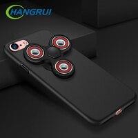 10PCS Wholesale For Iphone 7 Case Fidget Spinner Anti Stress Spiner Finger Spinner Hard PC Cover